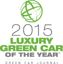 2015 Luxury Green Car of the Year - Winner