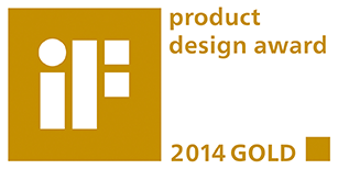 2014 iF Product Design Award - Gold