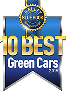 Best Green Car 2015 - Winner